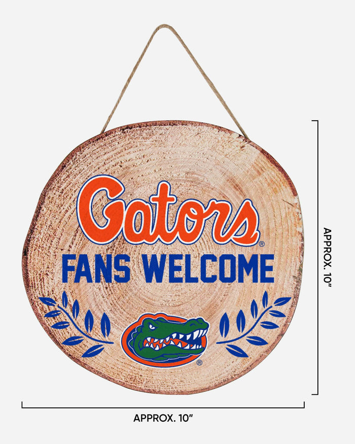 Florida Gators Wood Stump Sign FOCO - FOCO.com