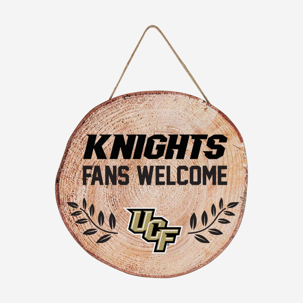 UCF Knights Wood Stump Sign FOCO - FOCO.com