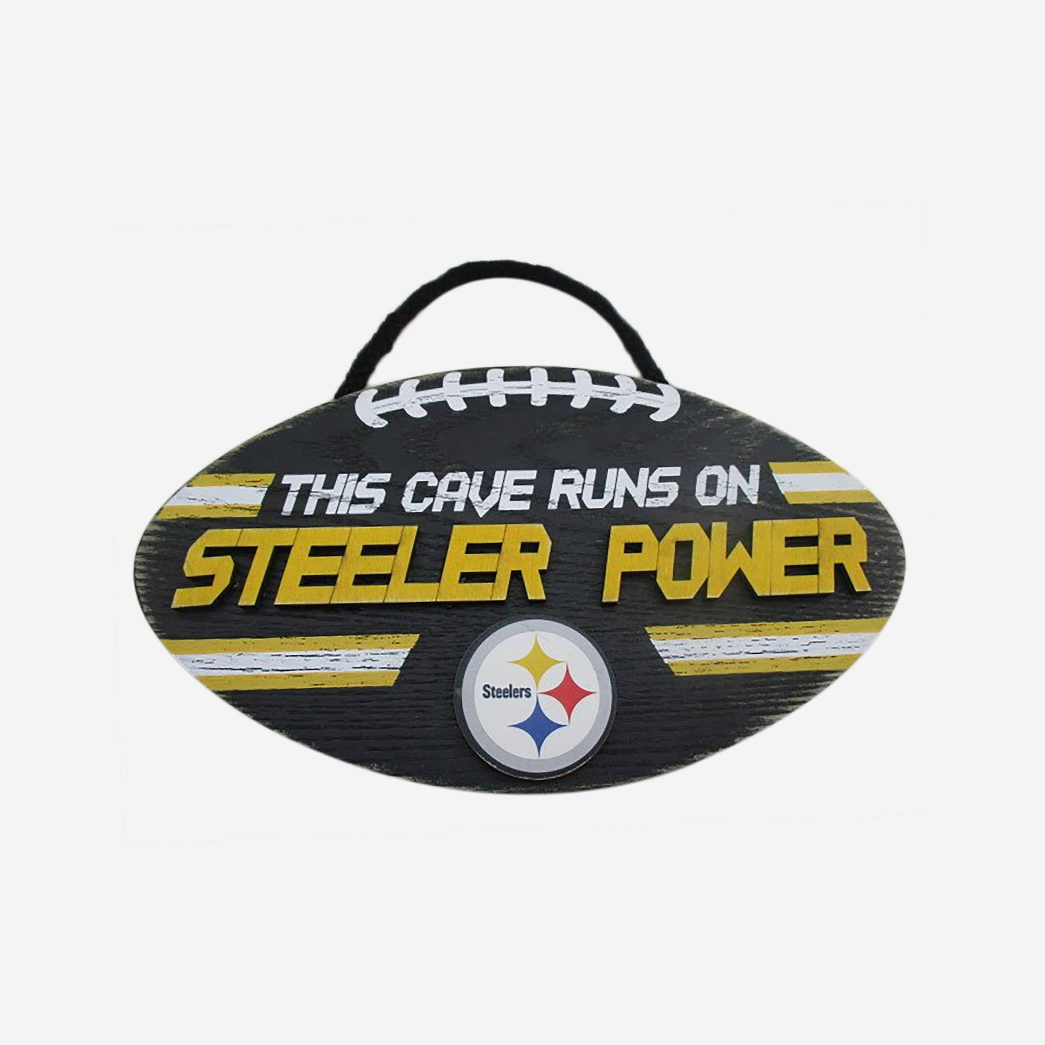 Pittsburgh Steelers Football Sign FOCO - FOCO.com