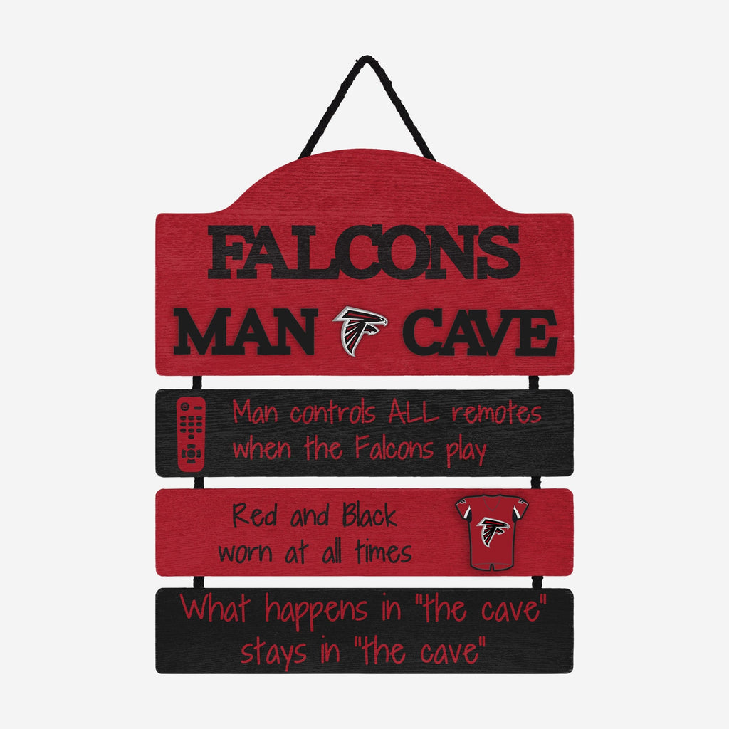 Atlanta Falcons Mancave Sign