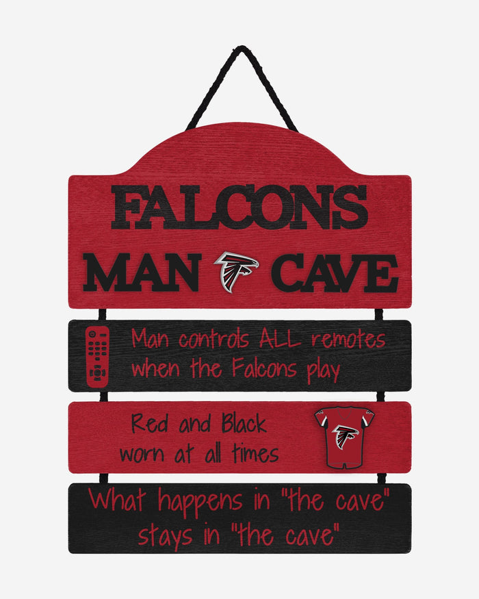 Atlanta Falcons Mancave Sign FOCO - FOCO.com