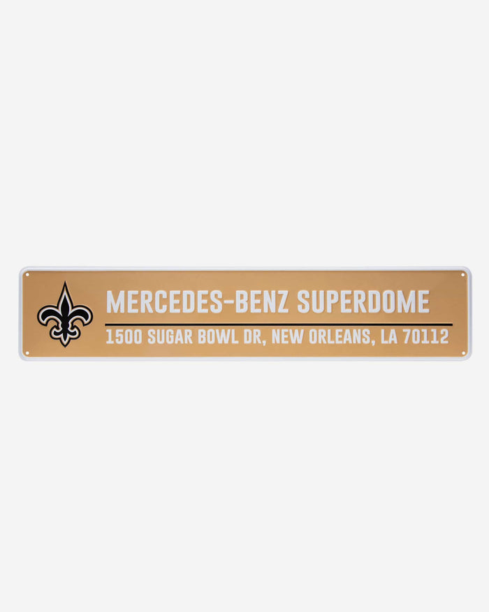 New Orleans Saints Stadium Street Sign FOCO - FOCO.com