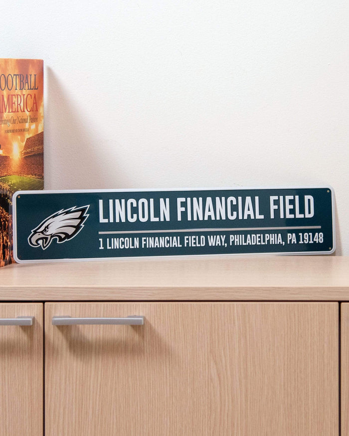 Philadelphia Eagles Stadium Street Sign FOCO - FOCO.com