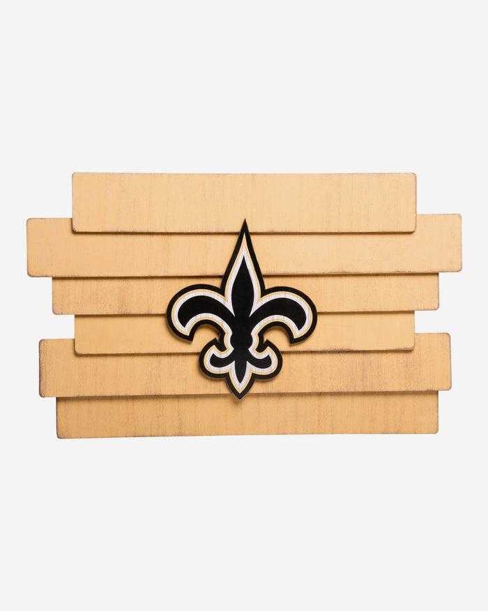 c223c3da New Orleans Saints Staggered Wood Logo Sign