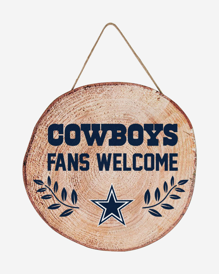 Dallas Cowboys Wood Stump Sign FOCO - FOCO.com
