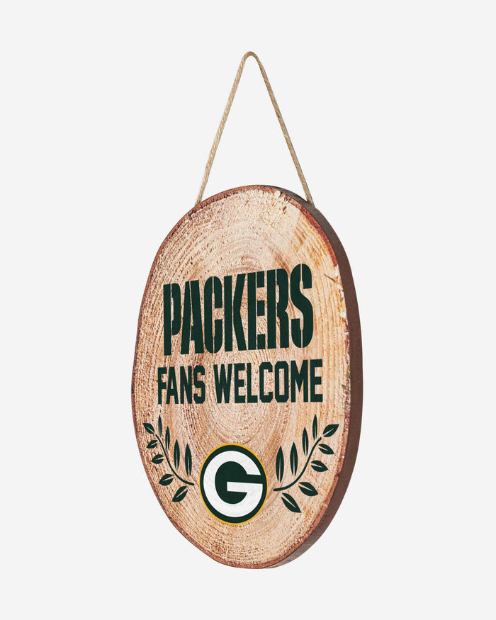 Green Bay Packers Wood Stump Sign FOCO - FOCO.com