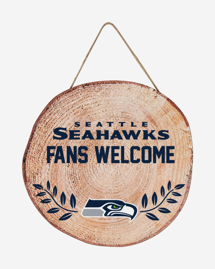 Seattle Seahawks Wood Stump Sign FOCO - FOCO.com