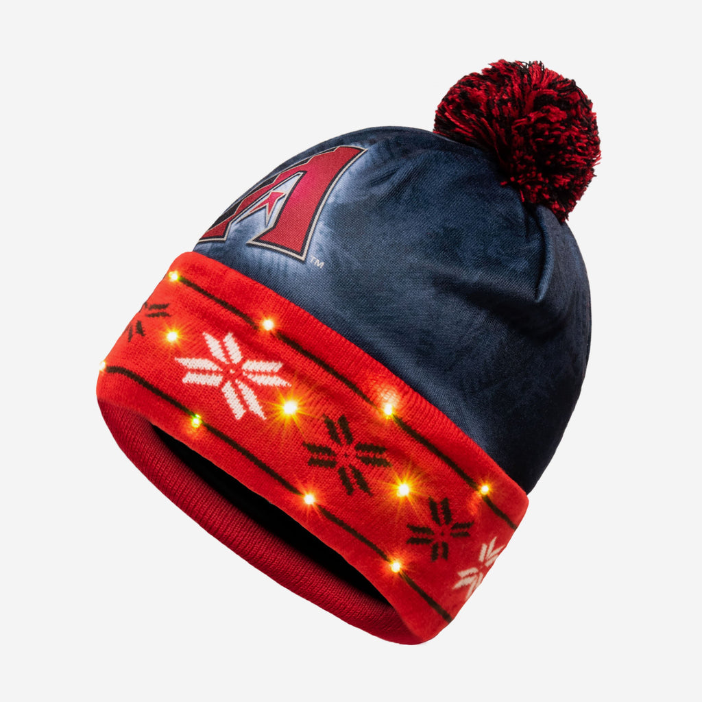 Arizona Diamondbacks Big Logo Light Up Beanie FOCO - FOCO.com