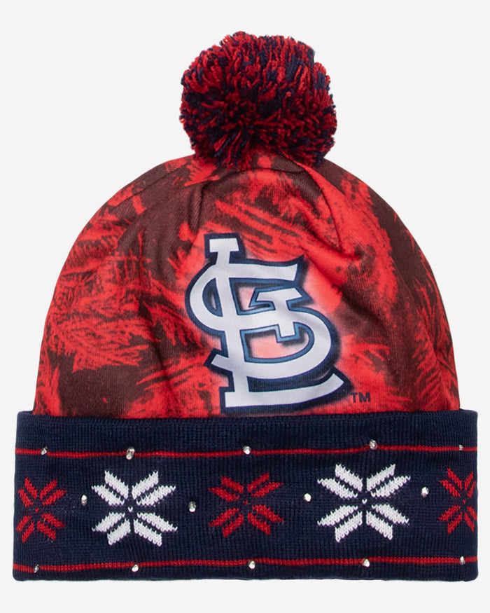 9f9bf35c St Louis Cardinals Big Logo Light Up Beanie