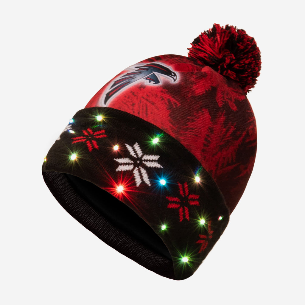 Atlanta Falcons Big Logo Light Up Beanie FOCO - FOCO.com