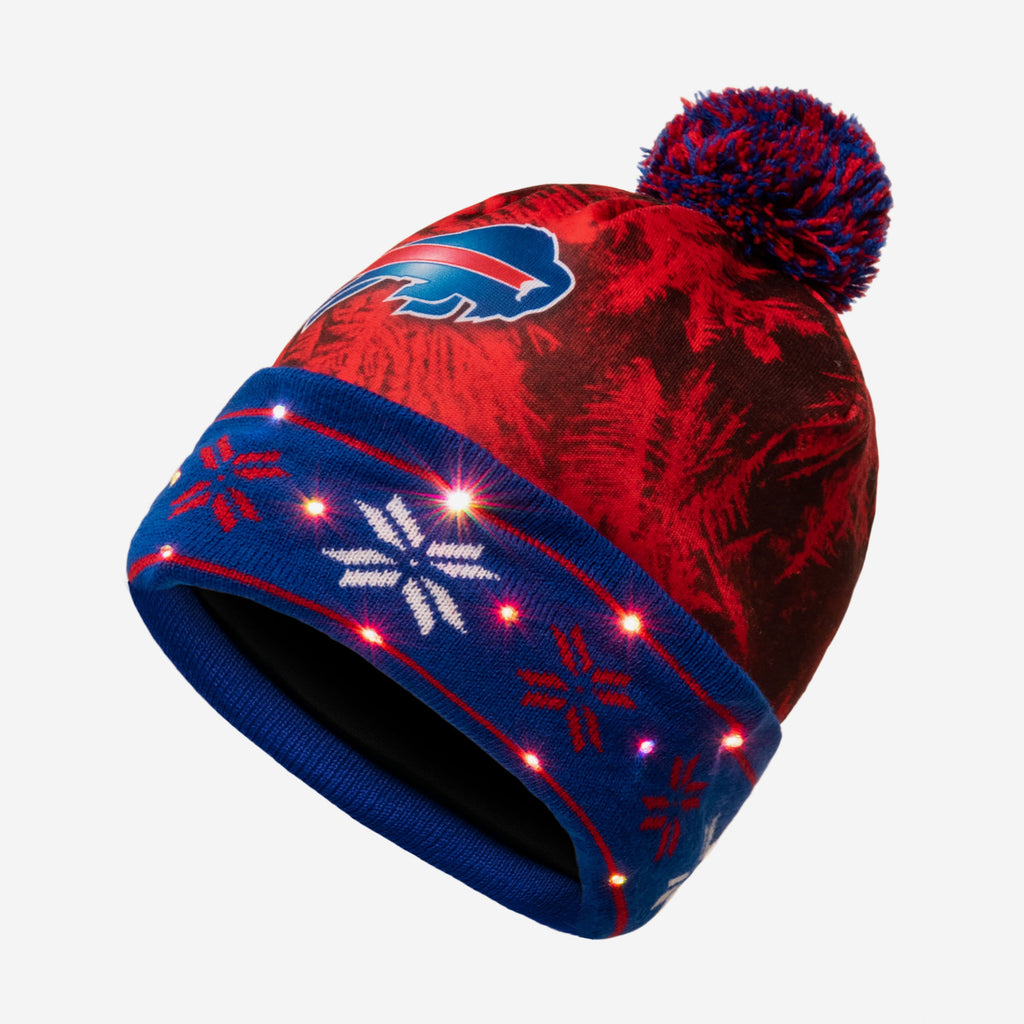 Buffalo Bills Big Logo Light Up Beanie FOCO - FOCO.com