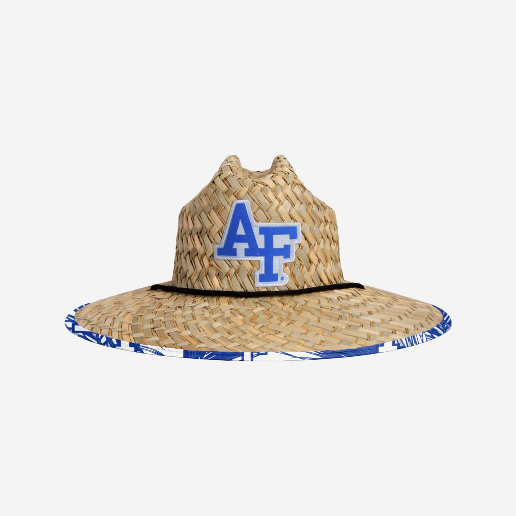 Air Force Falcons Floral Straw Hat FOCO - FOCO.com