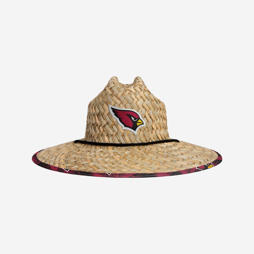 Arizona Cardinals Floral Straw Hat FOCO - FOCO.com