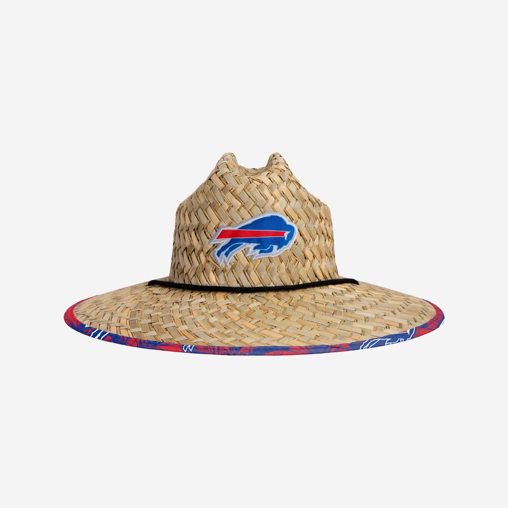 Buffalo Bills Floral Straw Hat FOCO - FOCO.com