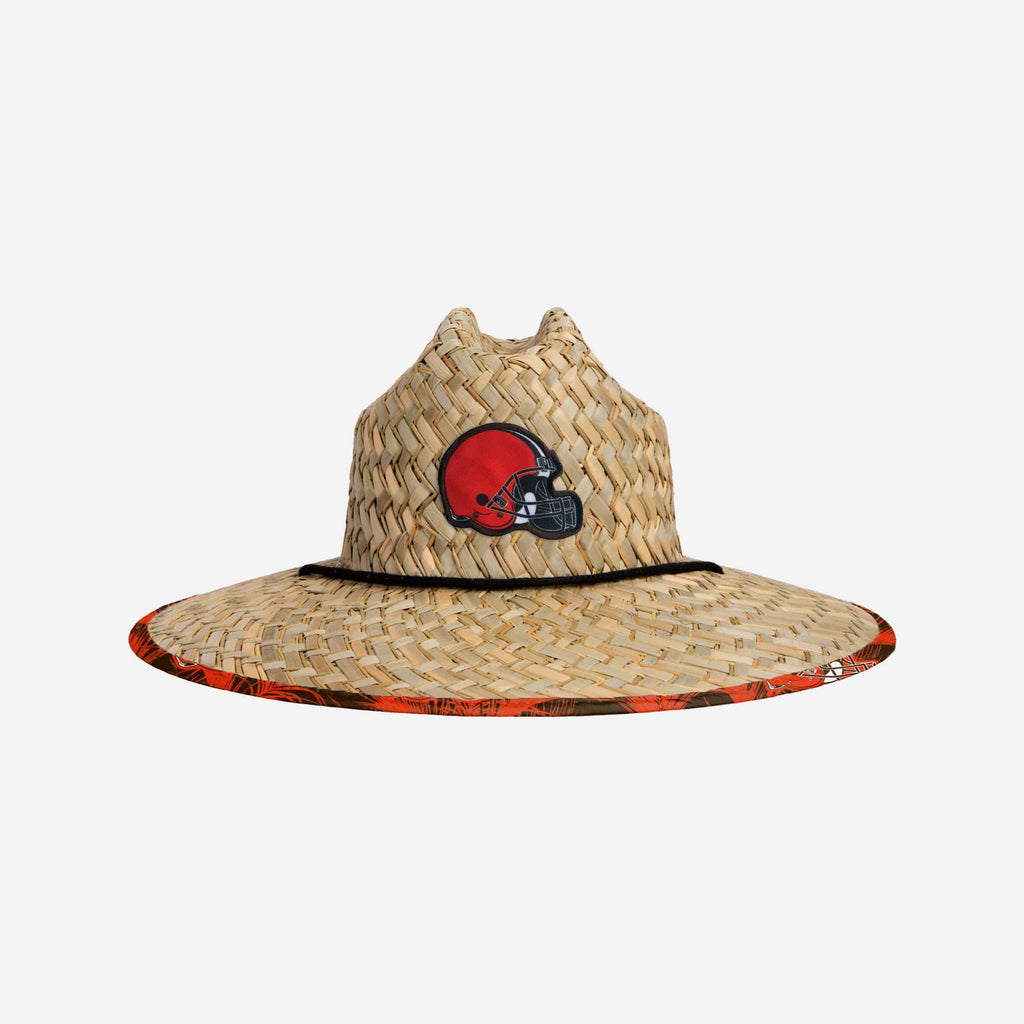 Cleveland Browns Floral Straw Hat FOCO - FOCO.com