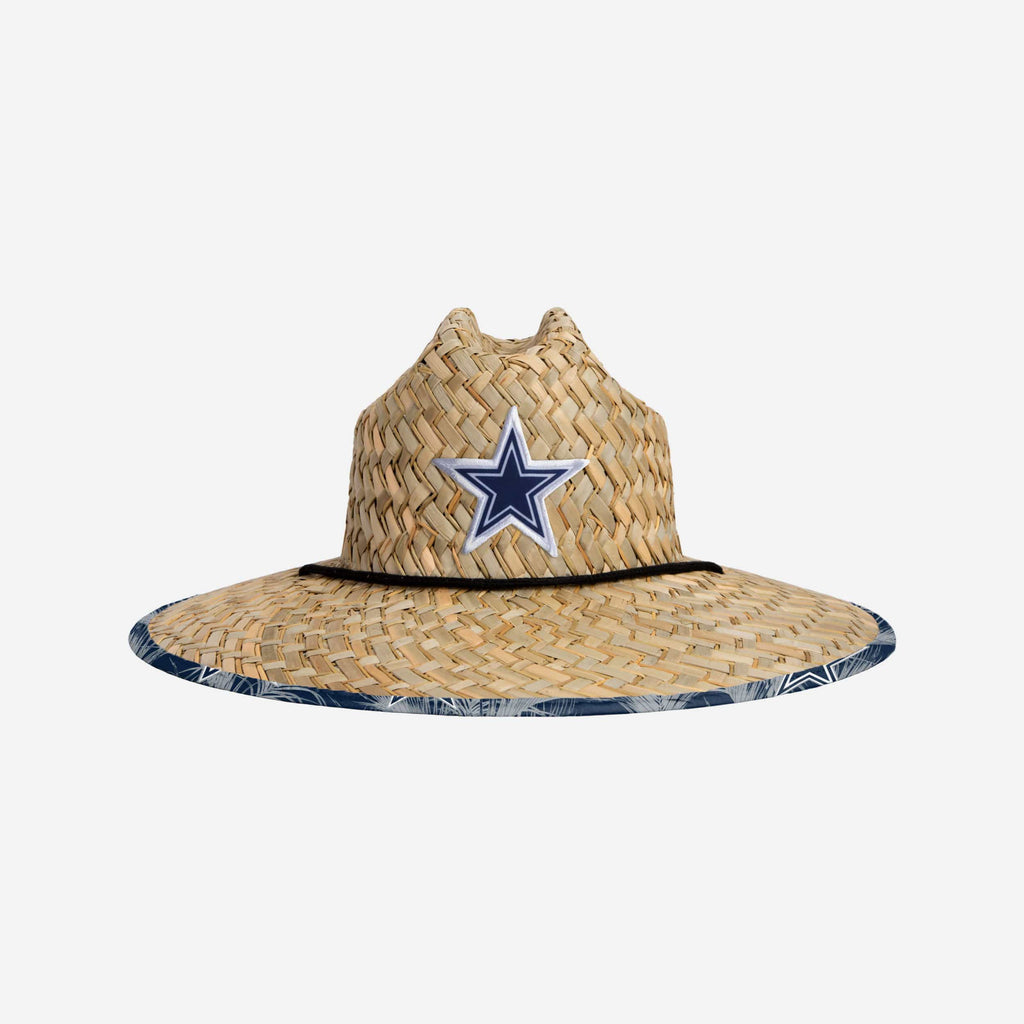 Dallas Cowboys Floral Straw Hat FOCO - FOCO.com