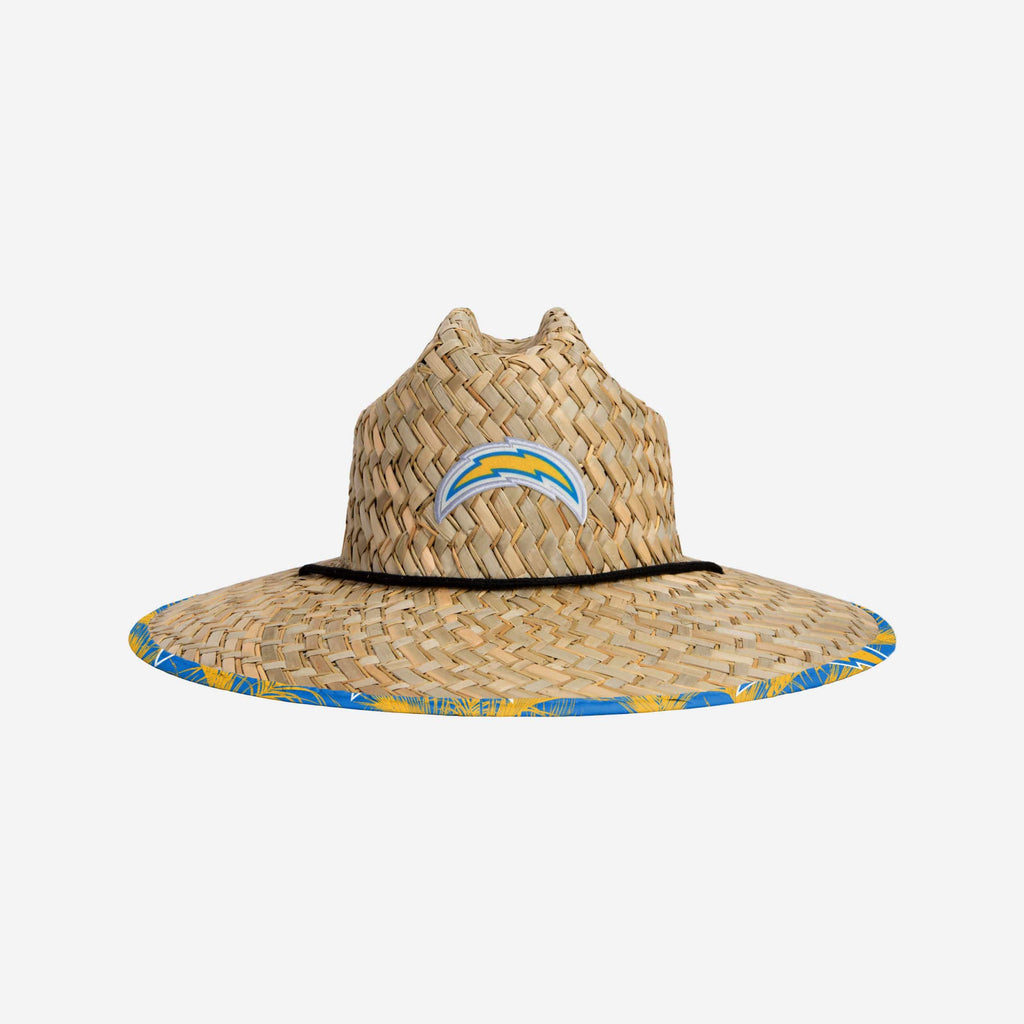 Los Angeles Chargers Floral Straw Hat FOCO - FOCO.com
