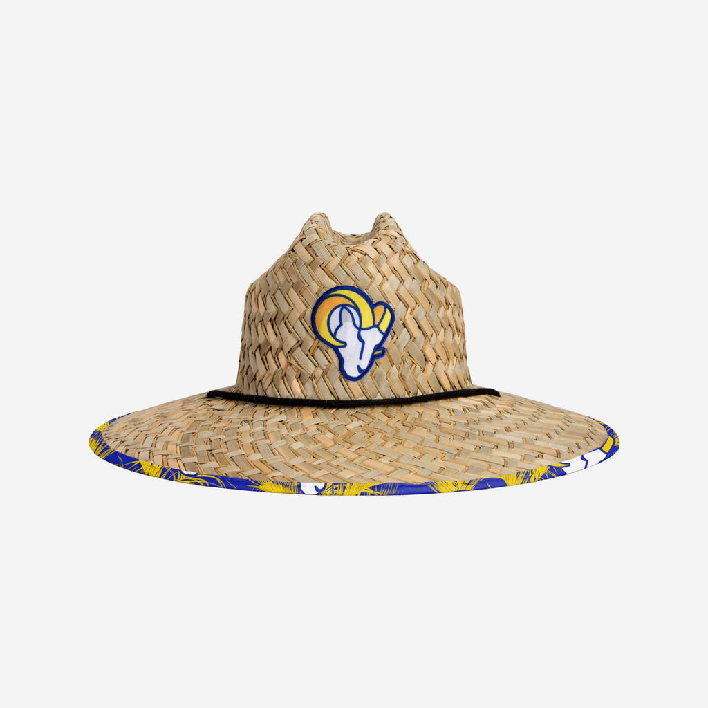Los Angeles Rams Floral Straw Hat FOCO - FOCO.com
