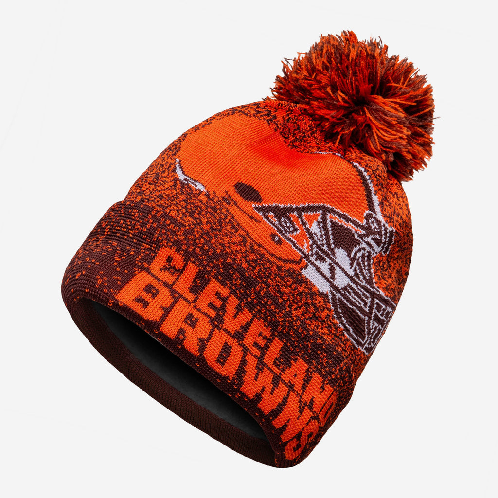 Cleveland Browns Matrix Beanie