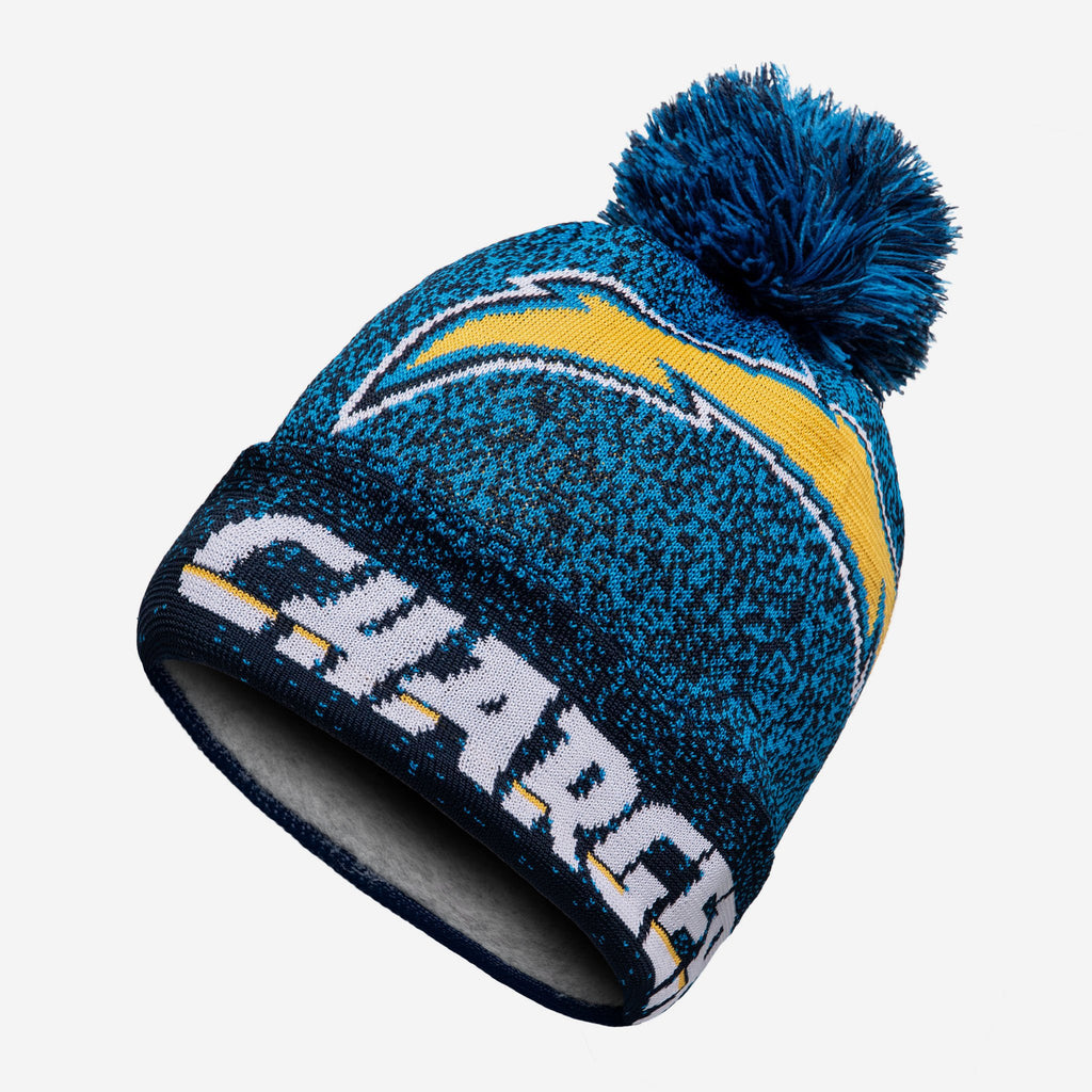 Los Angeles Chargers Matrix Beanie