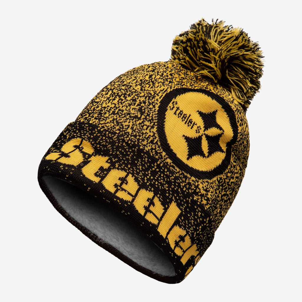 Pittsburgh Steelers Matrix Beanie FOCO - FOCO.com
