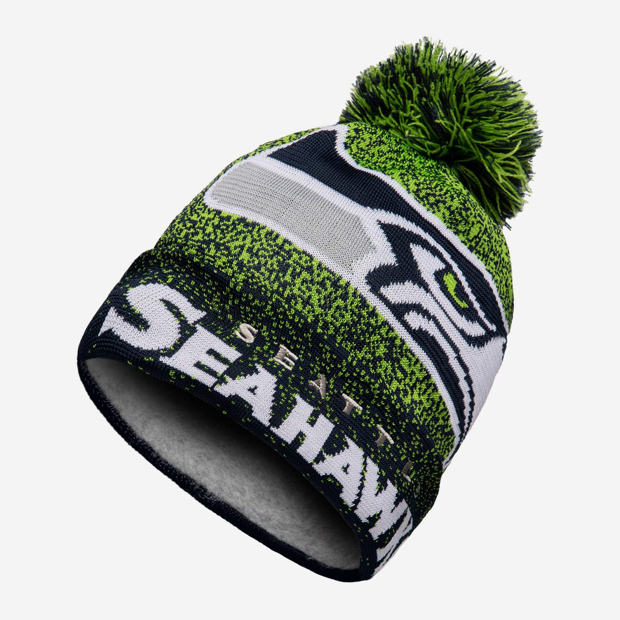Seattle Seahawks Matrix Beanie