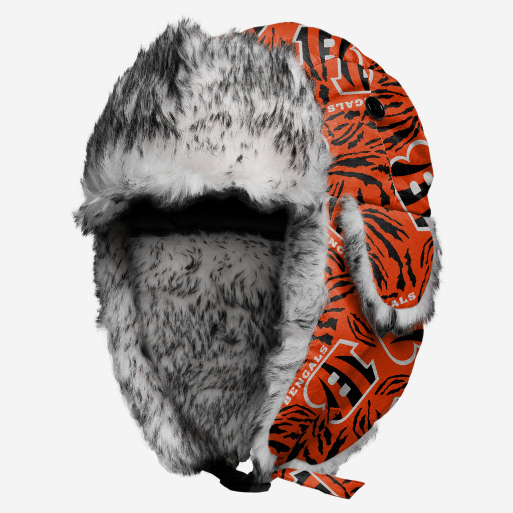 Cincinnati Bengals Repeat Print Trapper Hat