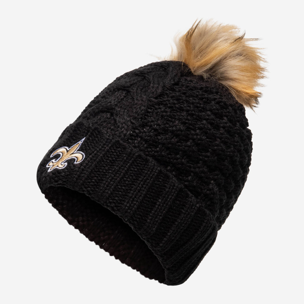 New Orleans Saints Womens Da Pom Beanie