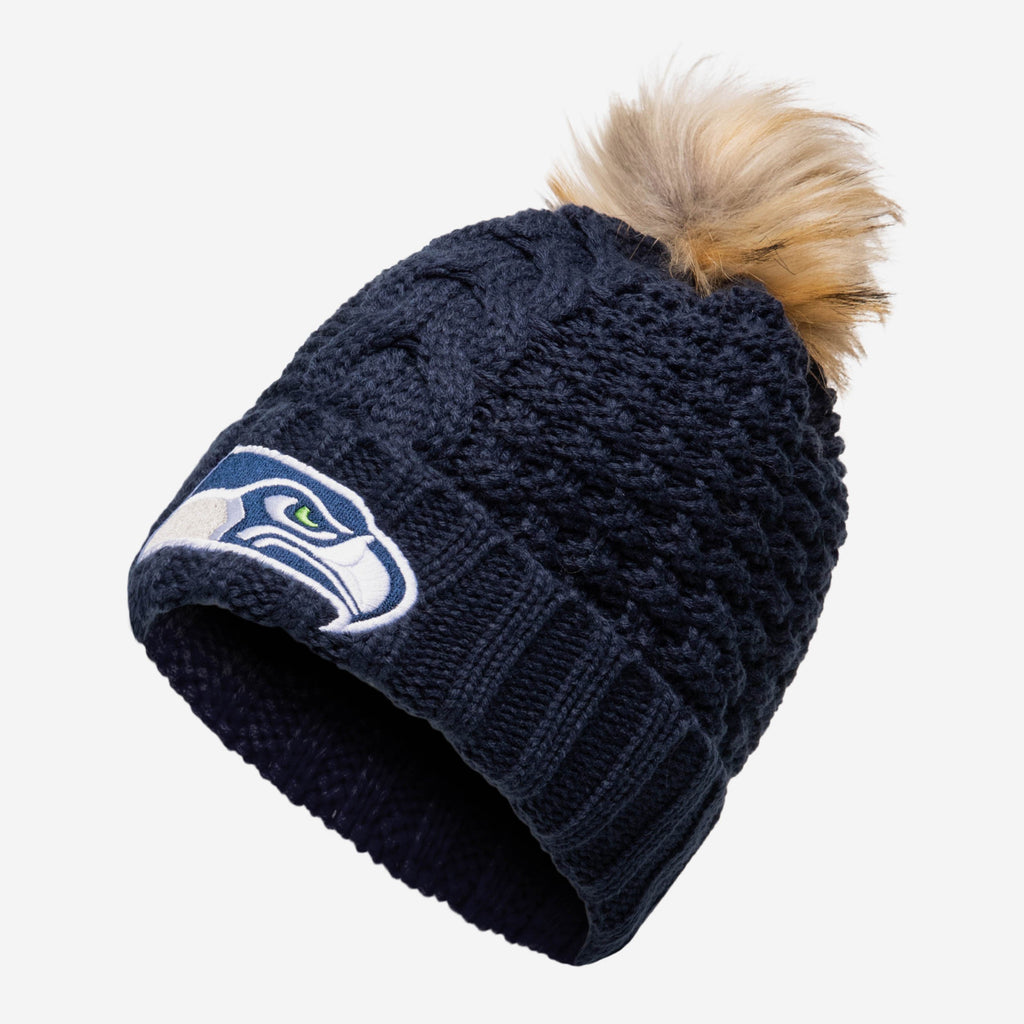 Seattle Seahawks Womens Da Pom Beanie