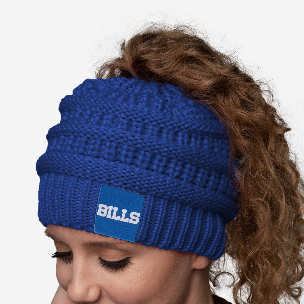 Buffalo Bills Womens Ponytail Beanie