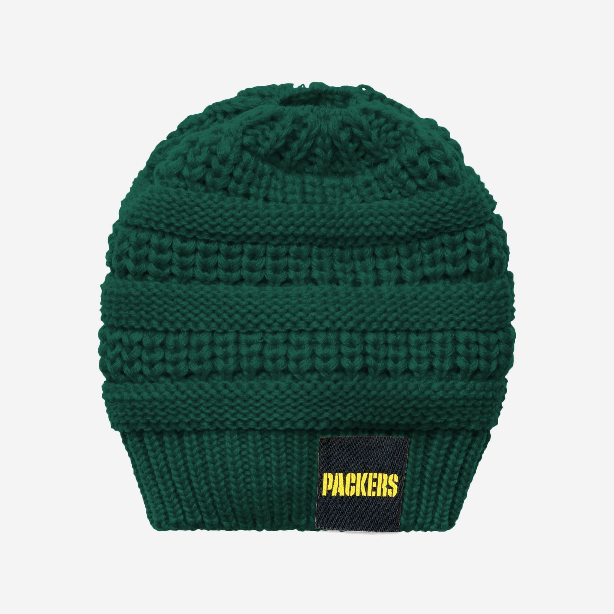 e11eb13c01c Green Bay Packers Womens Ponytail Beanie FOCO - FOCO.com