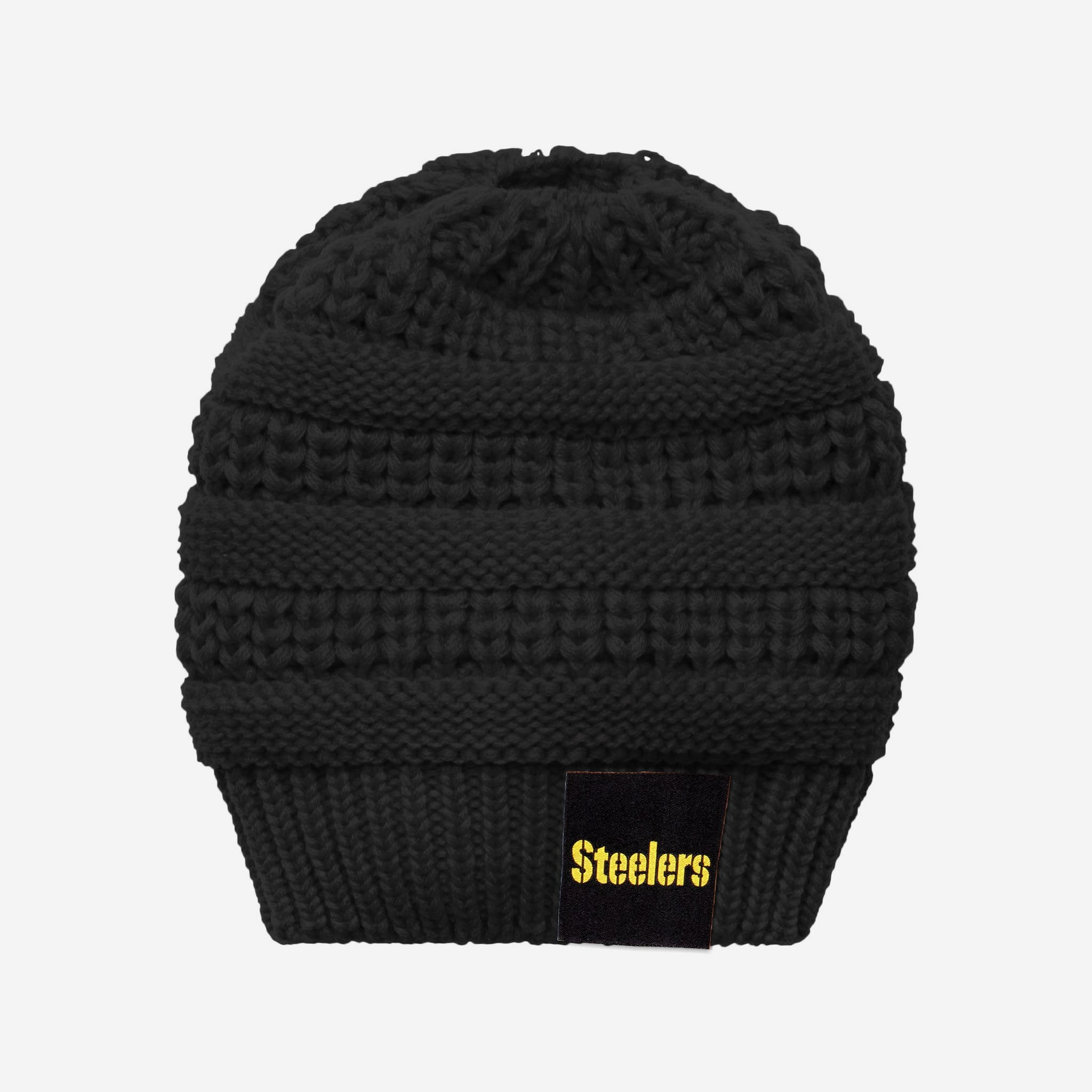 d36917df Pittsburgh Steelers Womens Ponytail Beanie