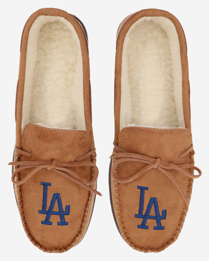 Los Angeles Dodgers Moccasin Slipper FOCO - FOCO.com