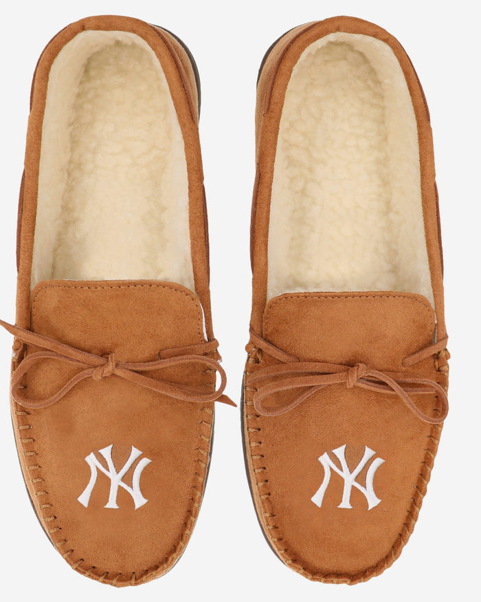 New York Yankees Moccasin Slipper FOCO - FOCO.com