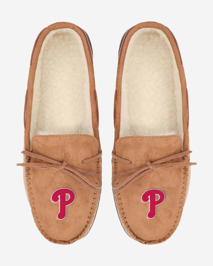 Philadelphia Phillies Moccasin Slipper FOCO - FOCO.com