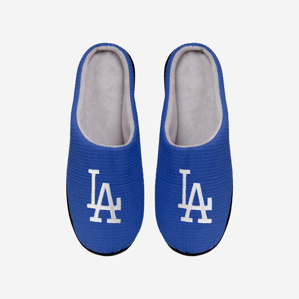 Los Angeles Dodgers Memory Foam Slide Slipper FOCO S - FOCO.com