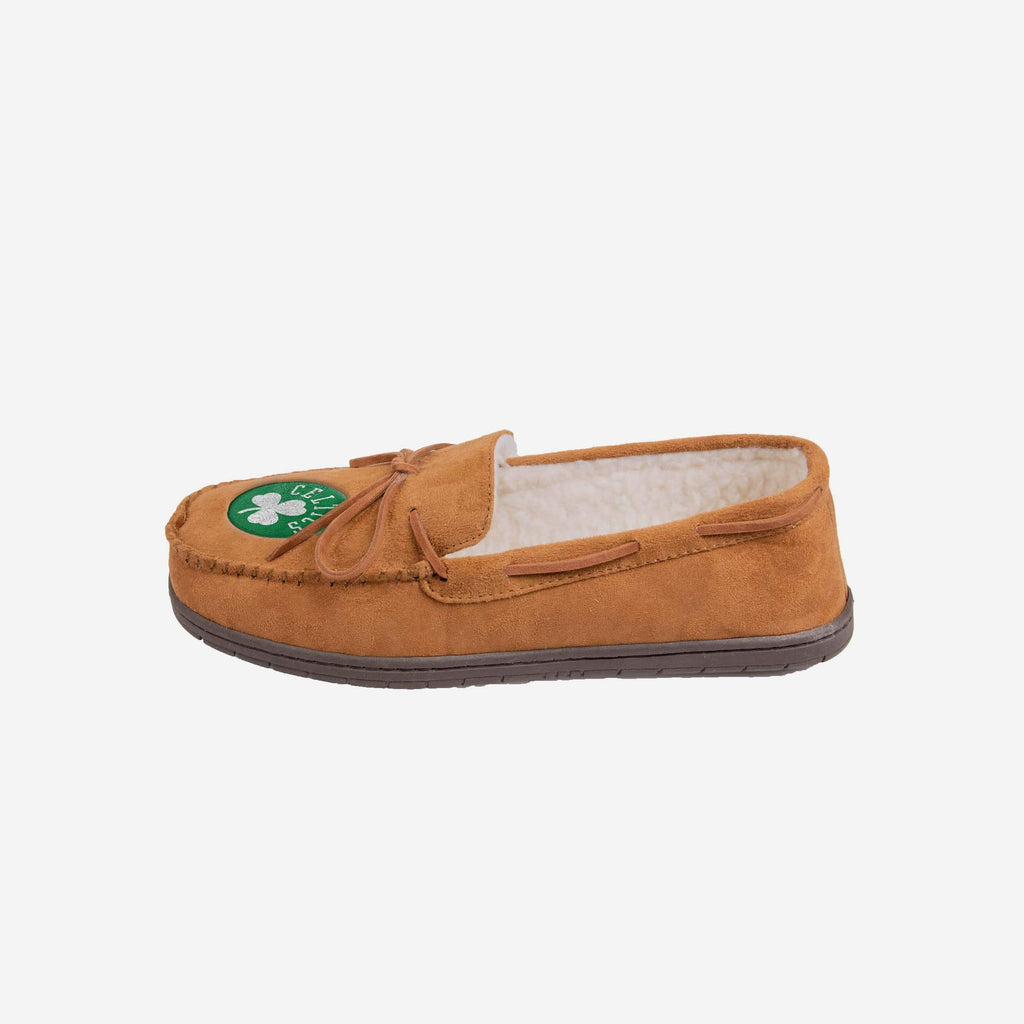 Boston Celtics Moccasin Slipper