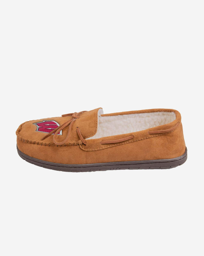 Wisconsin Badgers Moccasin Slipper FOCO - FOCO.com
