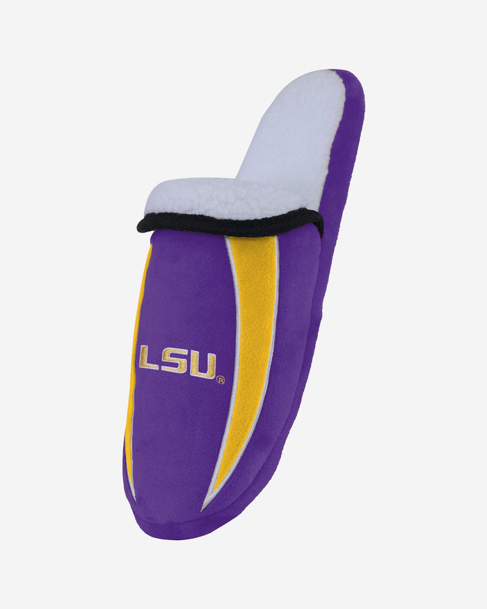 LSU Tigers Sherpa Slide Slipper FOCO - FOCO.com