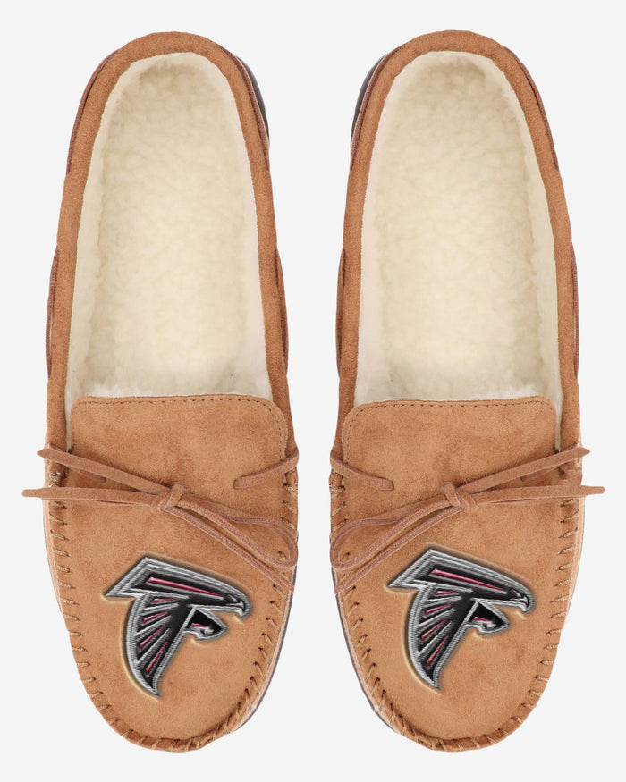 Atlanta Falcons Moccasin Slipper FOCO - FOCO.com