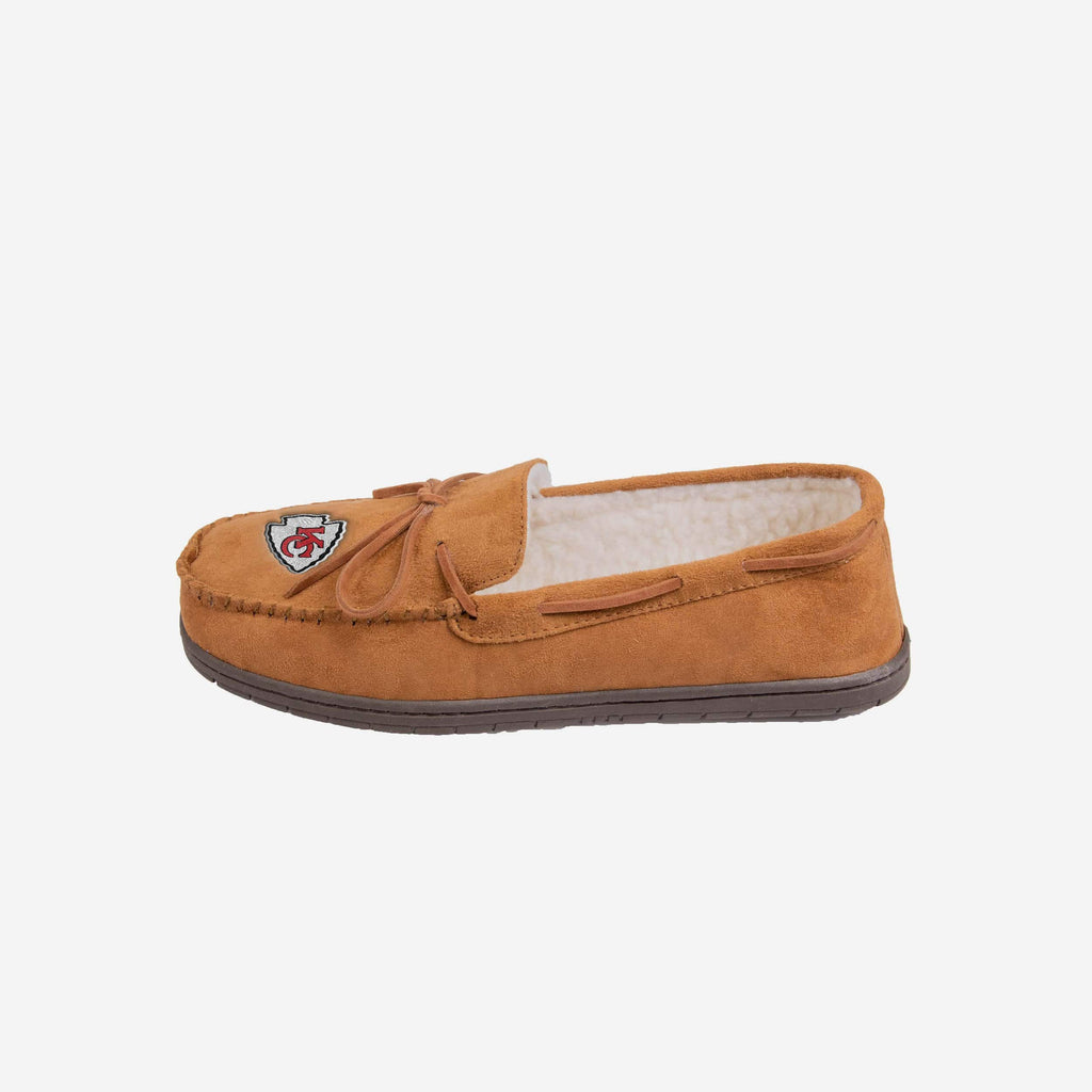 Kansas City Chiefs Moccasin Slipper FOCO - FOCO.com