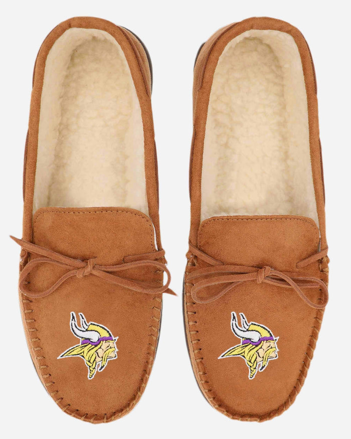 Minnesota Vikings Moccasin Slipper FOCO - FOCO.com