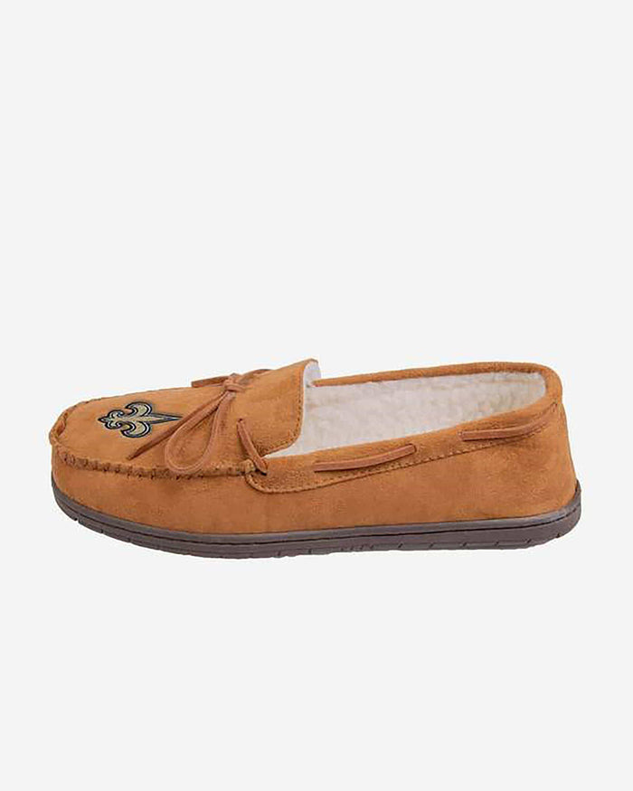New Orleans Saints Moccasin Slipper FOCO L - FOCO.com
