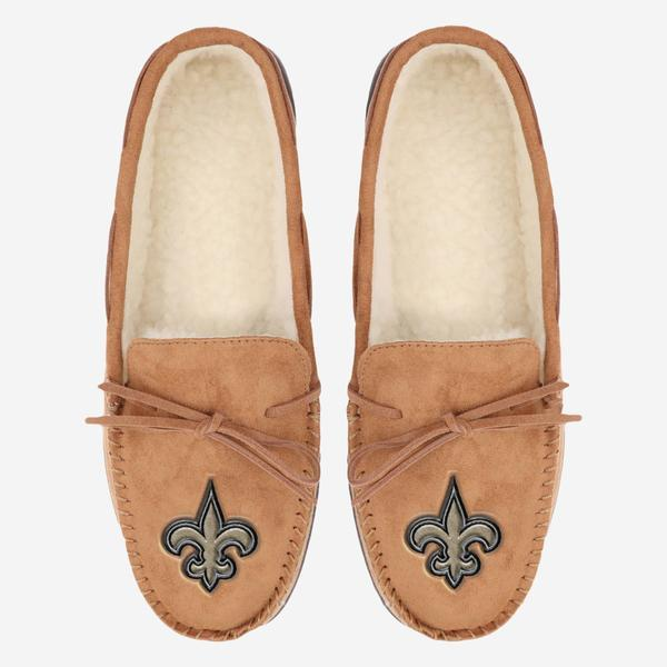 New Orleans Saints Moccasin Slipper FOCO - FOCO.com