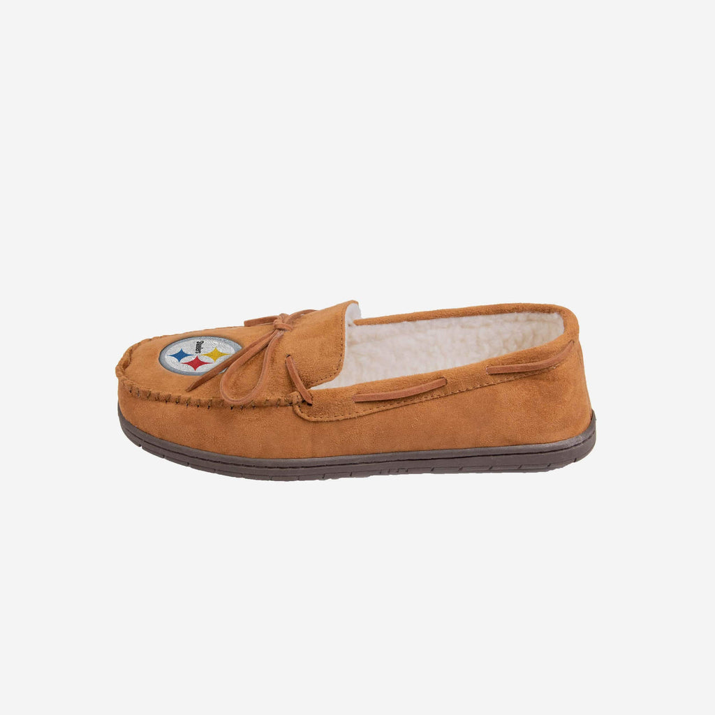 Pittsburgh Steelers Moccasin Slipper FOCO - FOCO.com