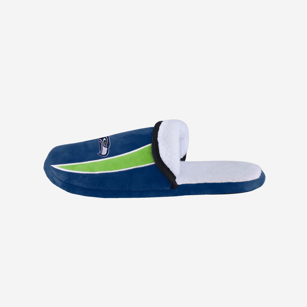 Seattle Seahawks Sherpa Slide Slipper