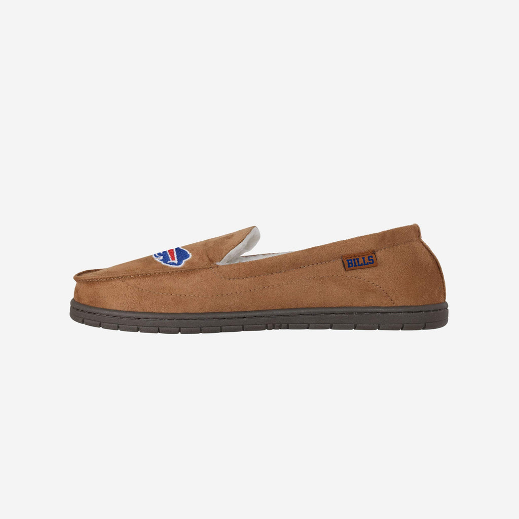 Buffalo Bills Beige Moccasin