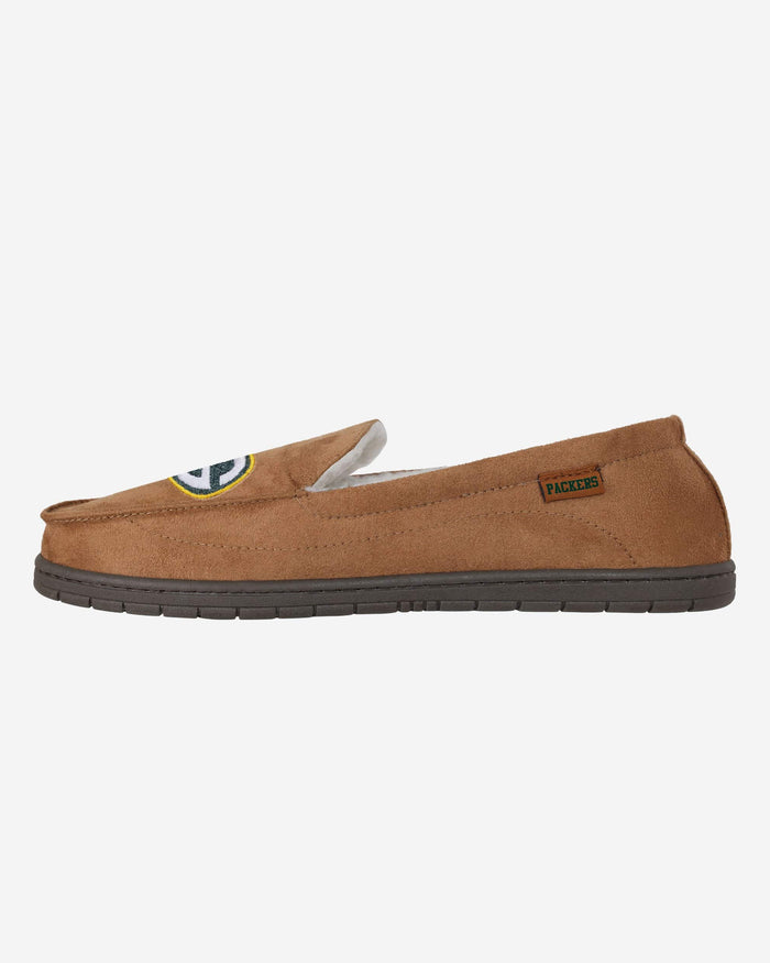 Green Bay Packers Beige Moccasin FOCO - FOCO.com