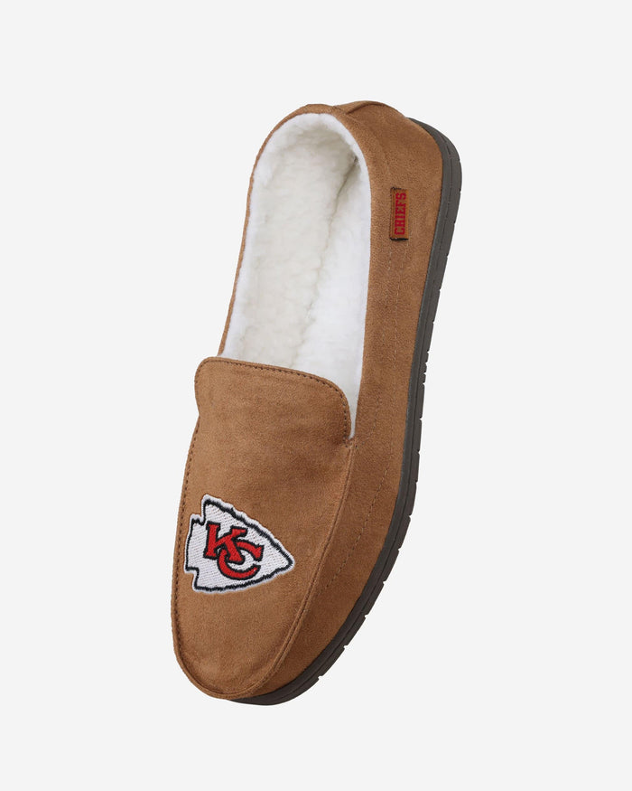 Kansas City Chiefs Beige Moccasin FOCO - FOCO.com