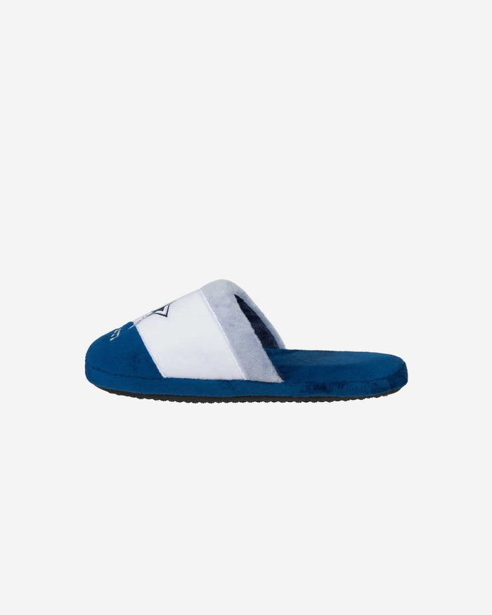 Dallas Cowboys Youth Colorblock Slide Slipper FOCO - FOCO.com